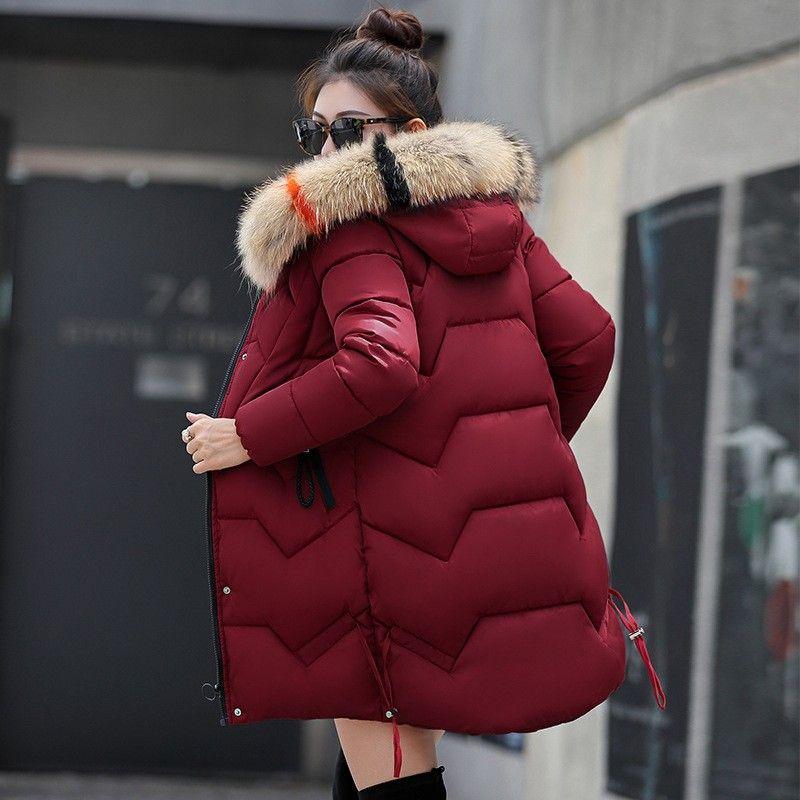 Großhandel Mit Kapuze Winter Daunenmantel Jacke Dicke Warme Schlanke Frauen  Casaco Feminino Abrigos Mujer Invierno 2018 Wadded Parkas Von Zd20198, ... 4f6ac790df