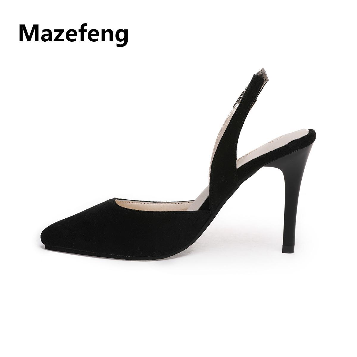 Mazefeng Sommer Schuhe Großhandel Klassische 2019 Damen Pumps f76gyvIYb