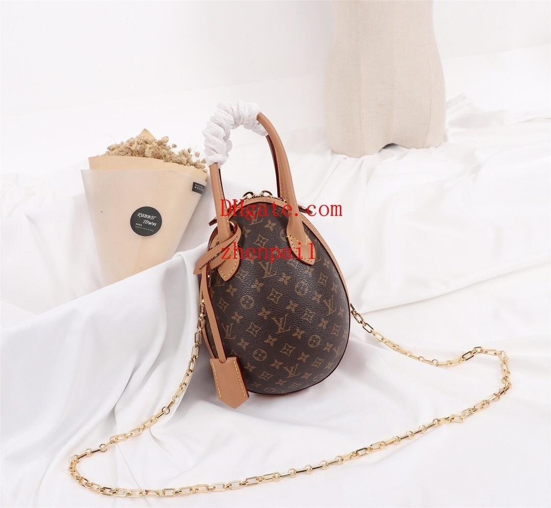 2019 New handbags purses listing women shoulder Bags charming gorgeous Popular exquisite old flowers Dinosaur egg design