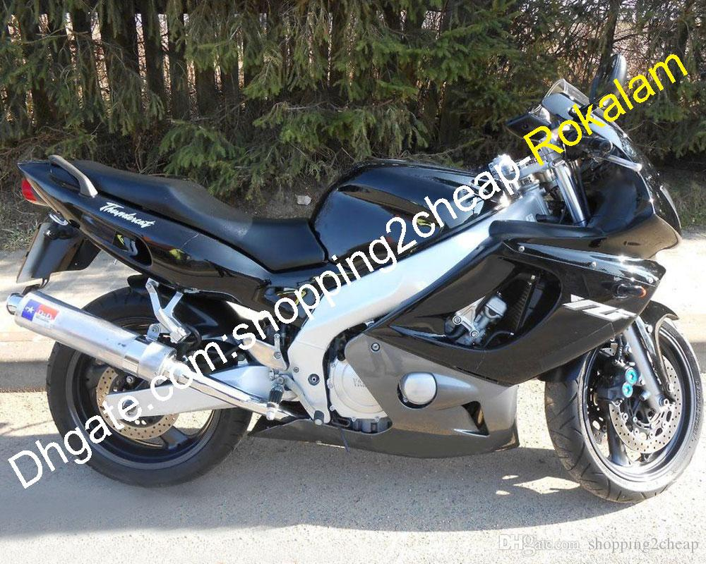 Kit de carenado para Yamaha 1997-2007 YZF600R THUNDERCAT YZF 600R 97 98 99 00 01 02 03 04 05 06 07 Piezas de motocicleta negras