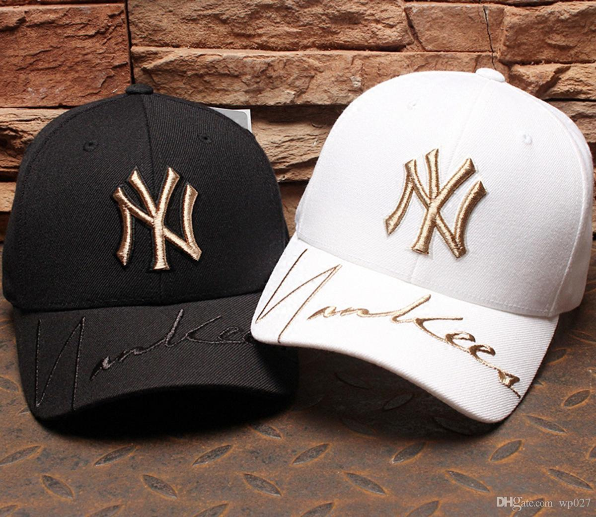 85019c56d 2019 Hat Men And Women Cap Gold Medal Yankees Hat Fashion Tide Brand Baseball  Cap From Wp027, $18.1 | DHgate.Com