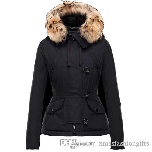 5603c063235b5 2019 New Winter Down Women Jackets Warm Slim Hoodies With Fur Brand  Designer Ladies Outdoor Outerwear Luxury Coat Online Sale From  Xmasfashiongifts