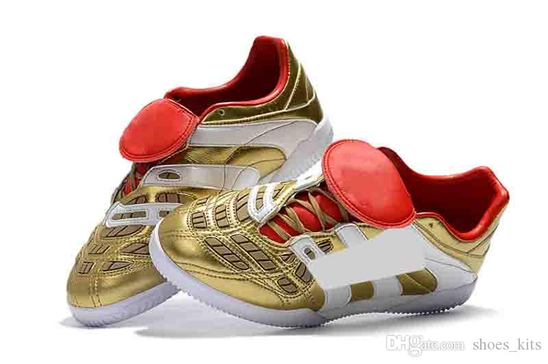 a826bb7f707 2019 2019 Soccer Boots Gold Predator Accelerator Electricity FG 98 Classic  Football Boots Soccer Cleats Size US6.5 US11 From Shoes kits