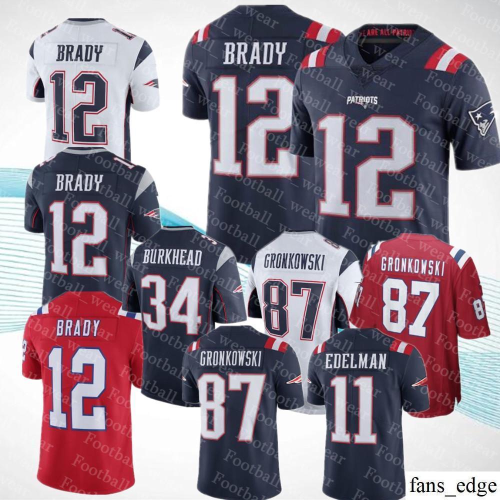 e117c73bf ... spain 2018 men women youth patriots jersey 12 tom brady 87 rob  gronkowski 15 chris hogan