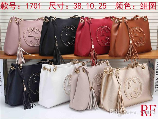 Hot Sell Newest Style Women Messenger Bag Totes bags Lady Composite Bag Shoulder Handbag Bags Pures #170-111