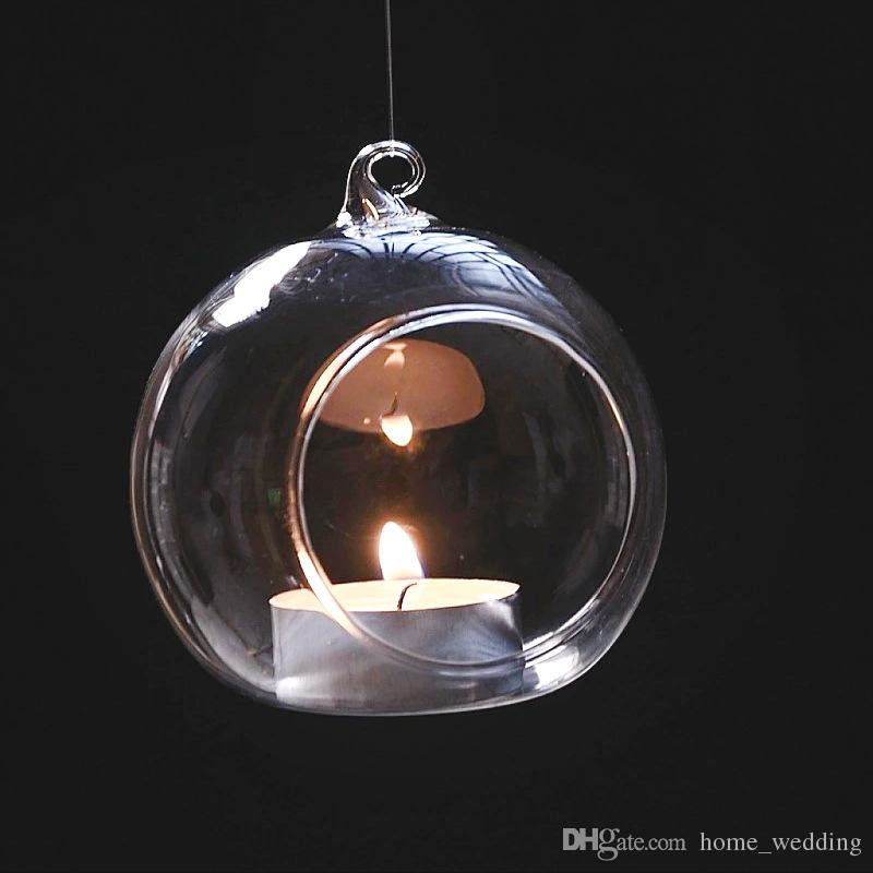 Cheap Hanging Candle Holders Wedding Best Glass Birthday