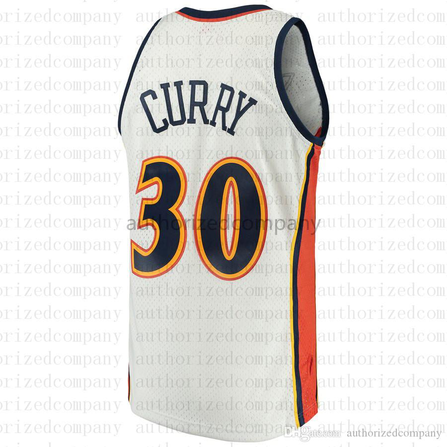 5b7235a0477 2019 wholesale Men s Golden jerseys State Stephen 30 Curry 35 Kevin Durant  we believe Warriors Mitchell   Ness White Swingman Jersey