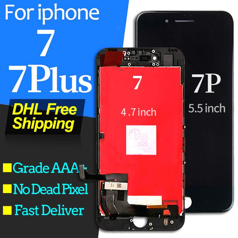 High-quality For iPhone 7 Plus LCD Touch Screen Digitizer Assembly  Replacement Good 3D Touch For iPhone 7 lcd Display