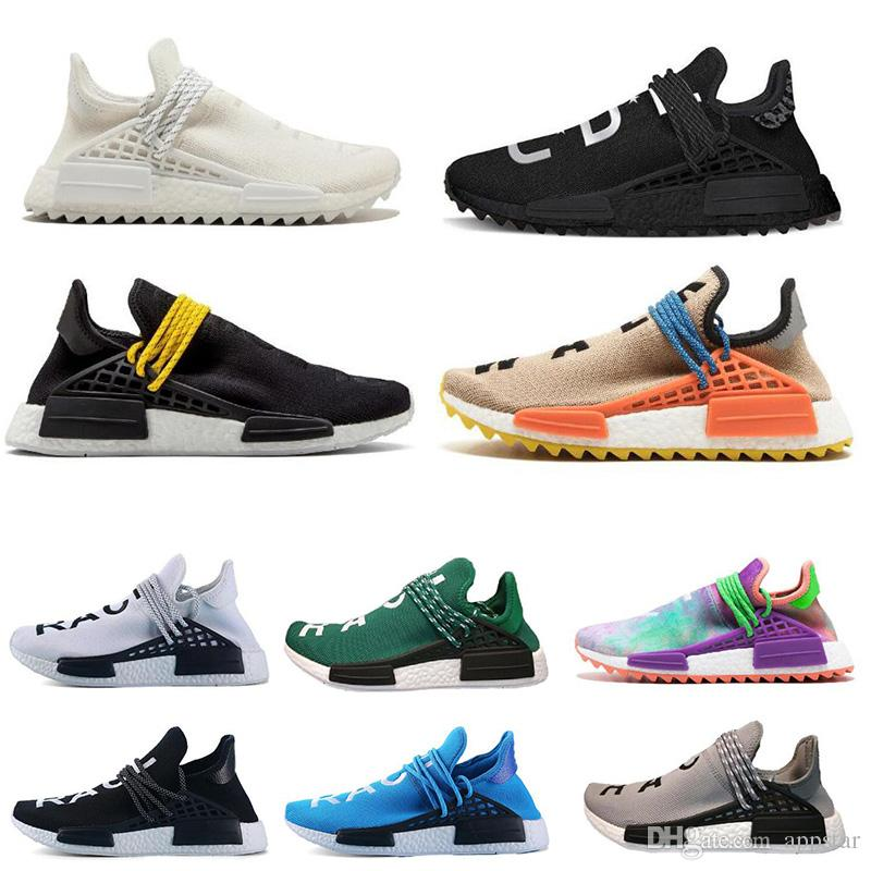 ff4547360 Classic Human Race Trail Running Shoes Pharrell Williams Hu Runner ...
