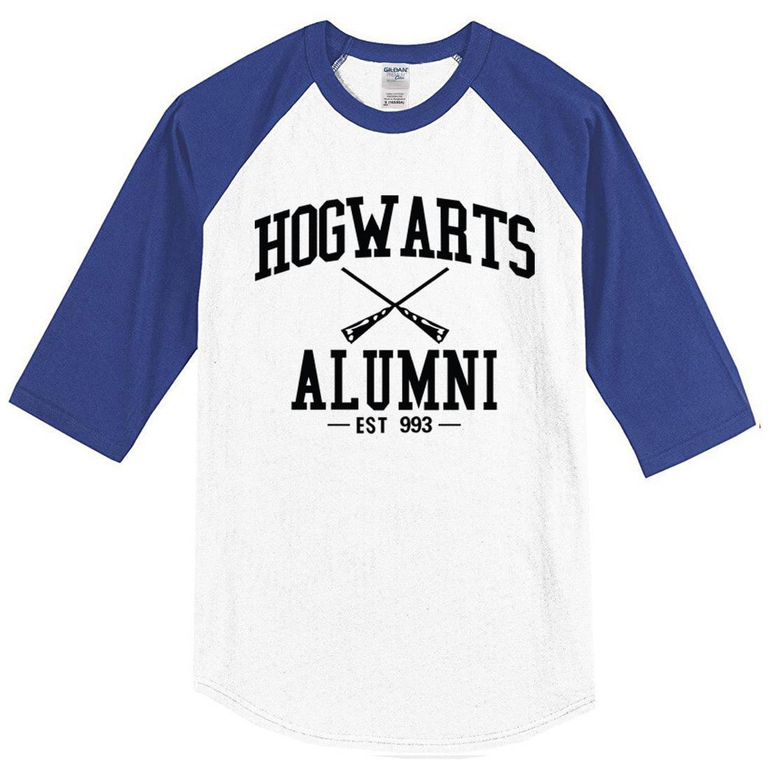40e9eacb4d7 Hot 2019 Men s T-shirts Hogwarts Alumni Print O-neck Cotton T-shirt Jersey  Homme Crossfit T Shirt Men Crossfit Harajuku Top Tee
