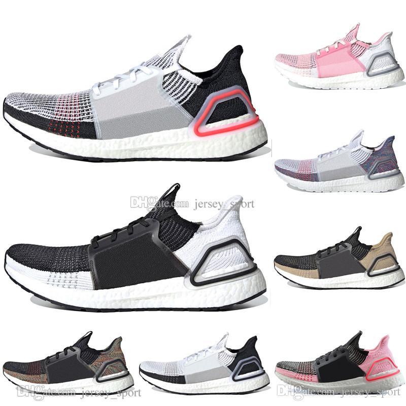 2019 Ultra Boost 19 Laser Red Refract Oreo hombre zapatillas de running para mujer Mujer UltraBoost UB 5.0 Dark Pixel Sports Sneakers Designer Tamaño