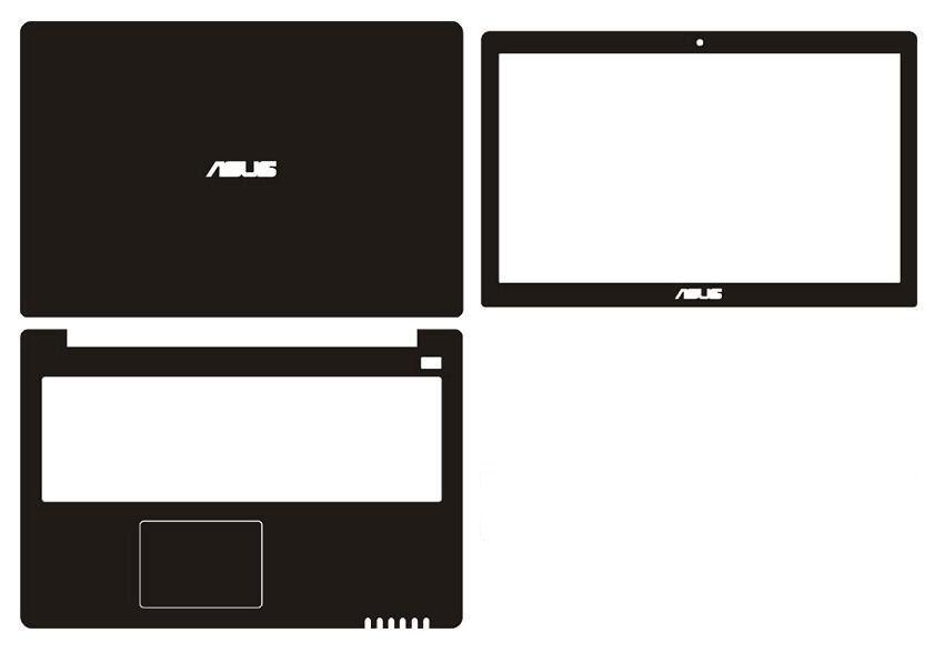 183c182f5437 Laptop Carbon fiber Vinyl Skin Sticker Cover For Asus vivobook S500C S500CA  15.6