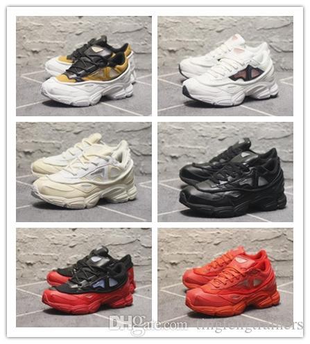 purchase cheap 5a6fe e0d75 Acheter 2018 Nouvelle Remise Raf Simons X Consortium Ozweego Chaussures De  Course Décontractées Baskets D entraînement Sneakers Pour Hommes Gym  Jogging ...