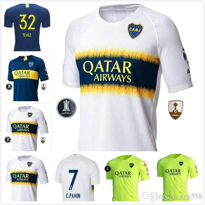 2299f6362 2018 2019 Boca Juniors Jersey Home Away 3RD 18 19 Boca Juniors GAGO ...