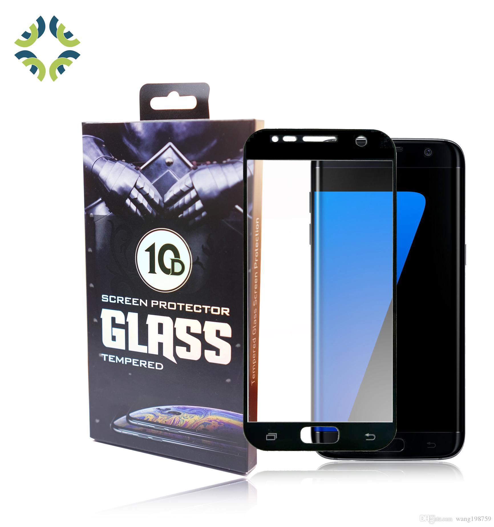 For Samsung S7 6 2 5D 9H Premium Tempered Glass Film Screen Protector  oleophobic coating screen guard