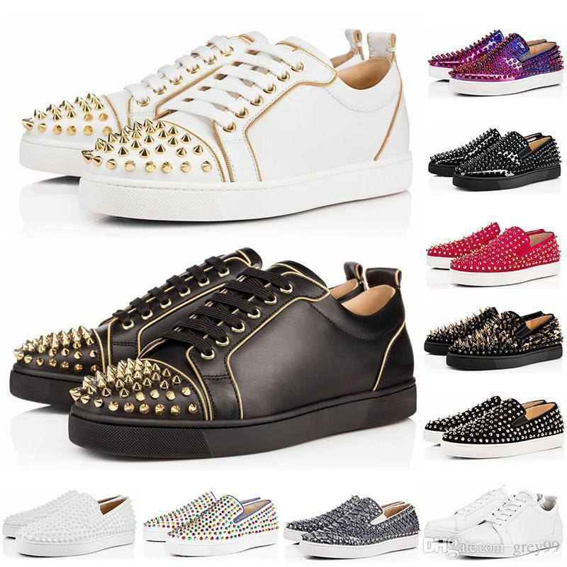 zsblue99 femmes concepteur chaussures bas Toes rouge noir Nude bas rouge en cuir Pointu chaussures Pompes Casual Sneaker taille 36-45