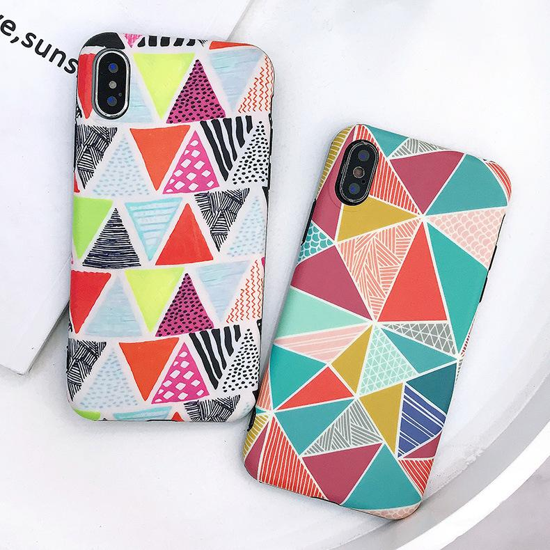 2019 Designer Phone Case with Fashion Diamond Shape for IPhoneX/XR/XS MAX IPhone7/8plus IPhone7/8 IPhone6s /6sPlus Two Style Availiable