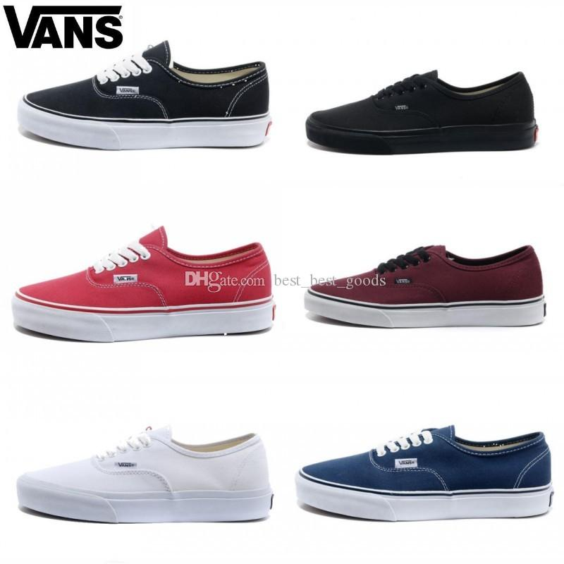d7247d98448a 2019 VANS Old Skool Low Black White Skateboard Classic Canvas Casual Skate  Shoes Zapatillas De Deporte Women Men Vans Sneakers Trainers 36 44 From ...