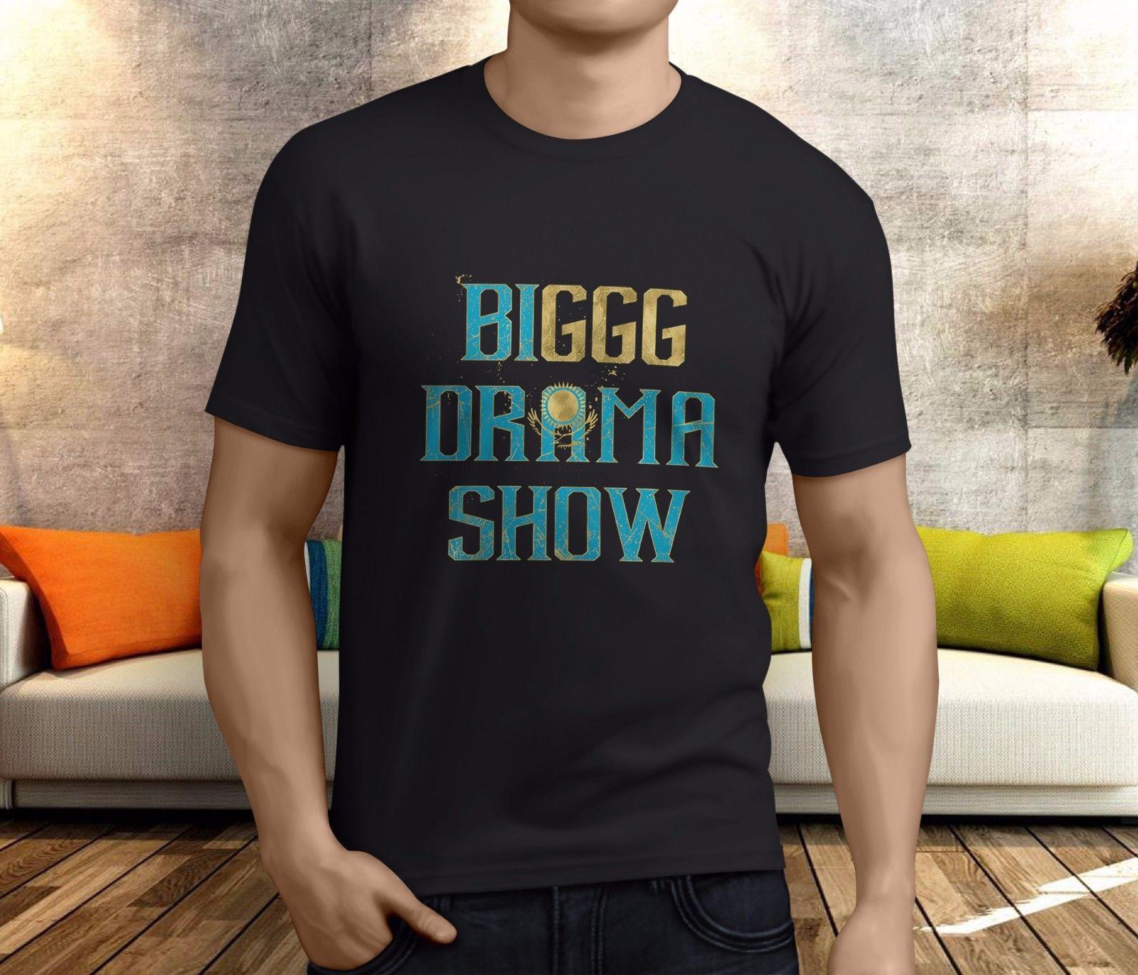 afec6b9a57b82c New Popular GGG BIGGG DRAMA SHOW Gennady Golovkin Men S Black T Shirt S 3XL  T Shirt Deals Humor Shirts From Goodluck064