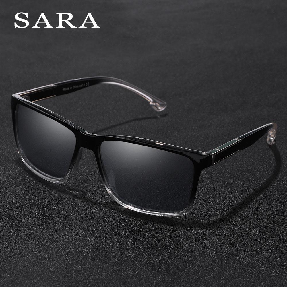 06910cf1cf688 SARA Square Vintage Polarized Sunglasses Men Women Male Unisex Shades Sun  Glasses Fashion Designer UV400 Driving Eyewear Oculos Cycling Sunglasses  Running ...