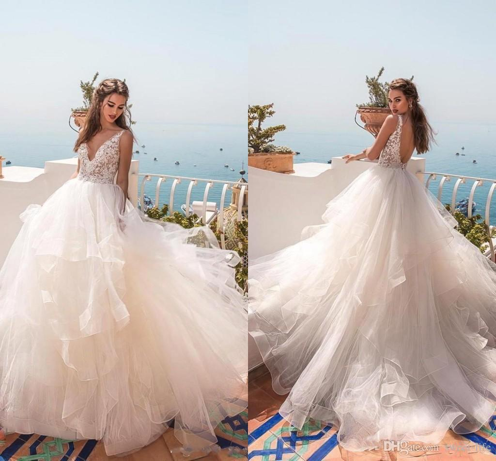 Vintage Organza Wedding Dresses Fashion Dresses