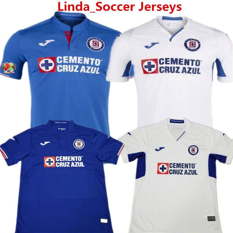 8ee22abf9f4 Soccer Jerseys Cruz Azul Liga MX Football Shirts Mexico League Club ...