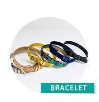 New Charm Metal Bracelets Female Mesh Watch Band Web Celebrity Colorful Bracelet For Man Women Fashion Cuff Jewelry Accessories