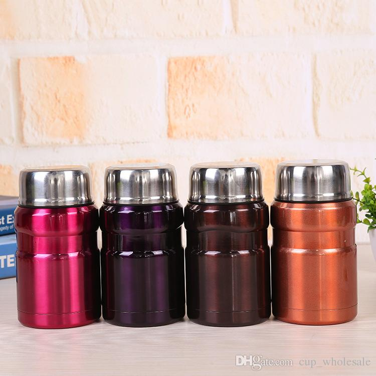 148a44c3040c 550ml Stainless Steel Food Jar with Spoon Bento Thermal Lunch Box Food  Storage Container Flask for Adults Kids Vacuum Insulated Lunch Jar