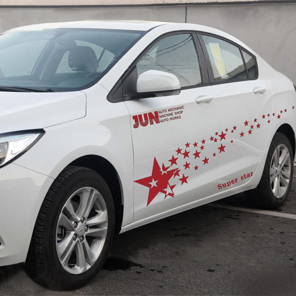 New racing starry car stickers auto sport jpg