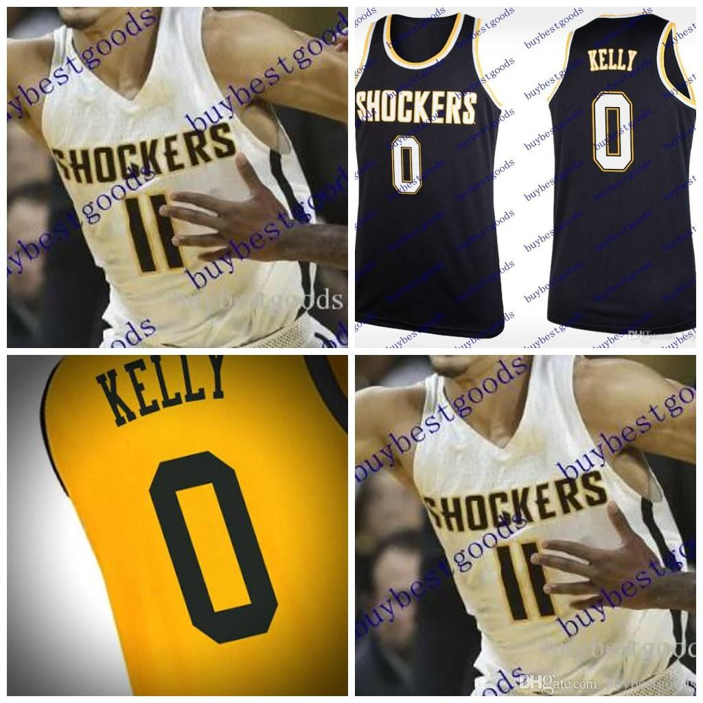 info for f3bef e6d79 Custom Wichita State Shockers College Basketball black yellow white  Stitched Any Name Number #11 #23 Jersey S-4XL