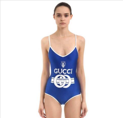 44778f096b3 2019 Luxury 2018 New G Letter Brand Bikini Swimwear For Women Bathing Suit  Sexy Backless Beachwear Summer One Piece Sexy Lady Swimsuit From  Wuxiangliuwei