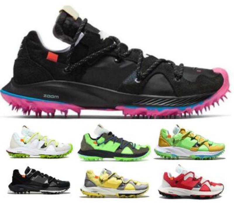 Terra Zoom Kiger 5 Zapatillas de running Zapatillas de deporte Hombre Mujer Negro Wmns 2019 Apagado Diseñadores Zapatillas de deporte Chaussures