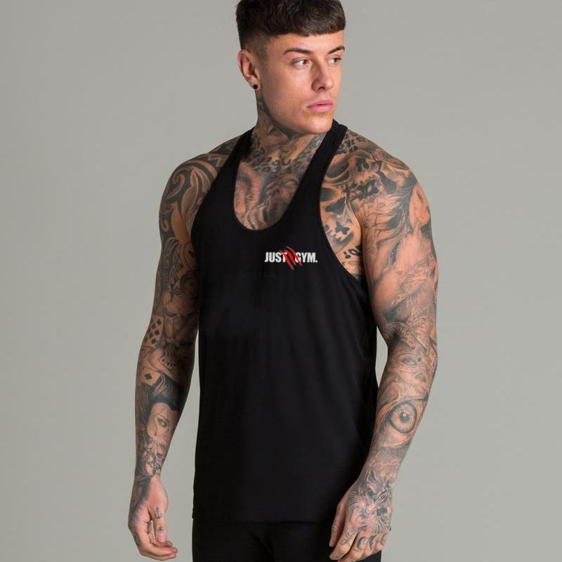27bb24bd565fa New Brand Mens Tank Top Just Gyms Fitness Bodybuilding Sleeveless Shirt Male  Cotton Crossfit Clothing Casual Singlet Muscle Vest Best Funny T Shirts  Really ...