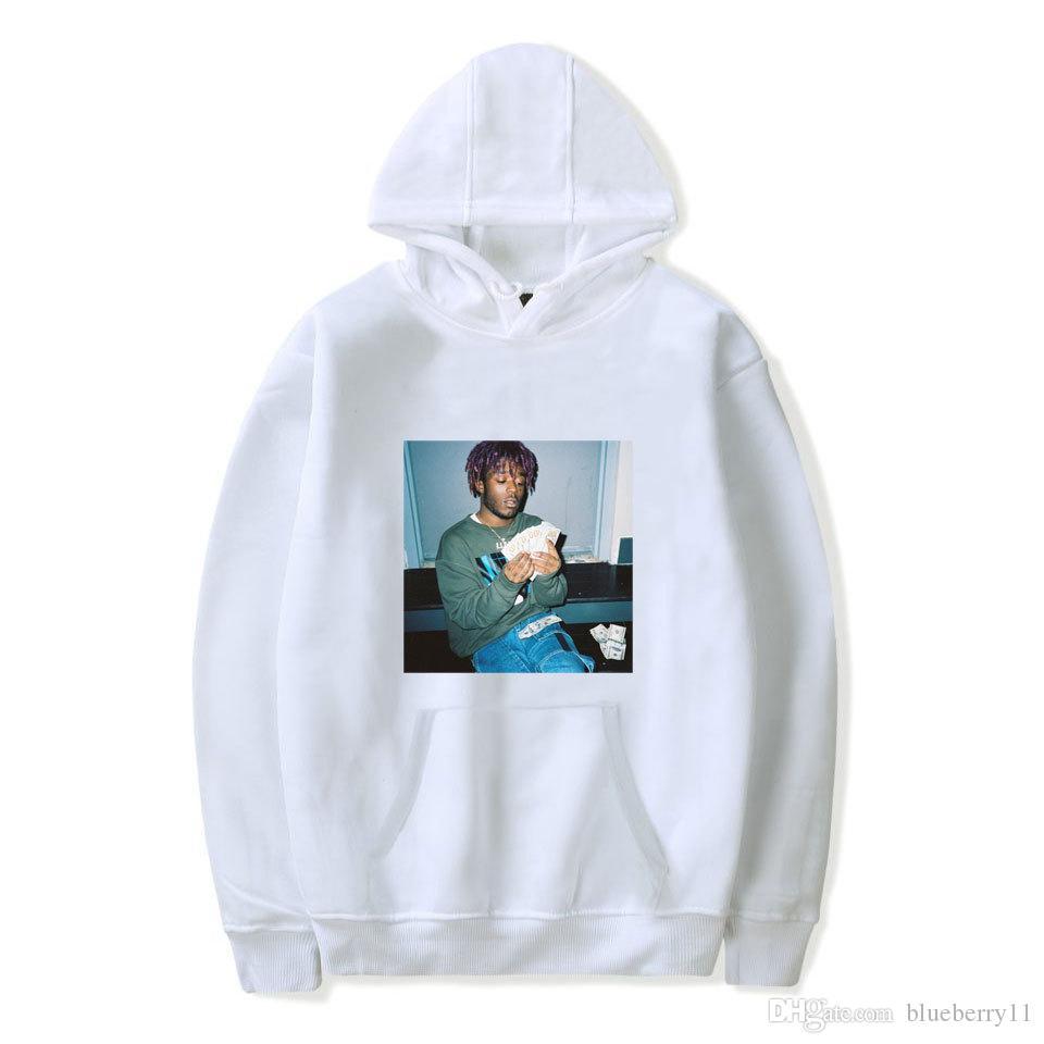 6732744b0c5 2019 Rapper Lil Uzi Vert Printed Winter Hoodies Hip Hop Hooded Hoodies  Sweatshirts Black Men Streetwear Loose S 4XL From Blueberry11