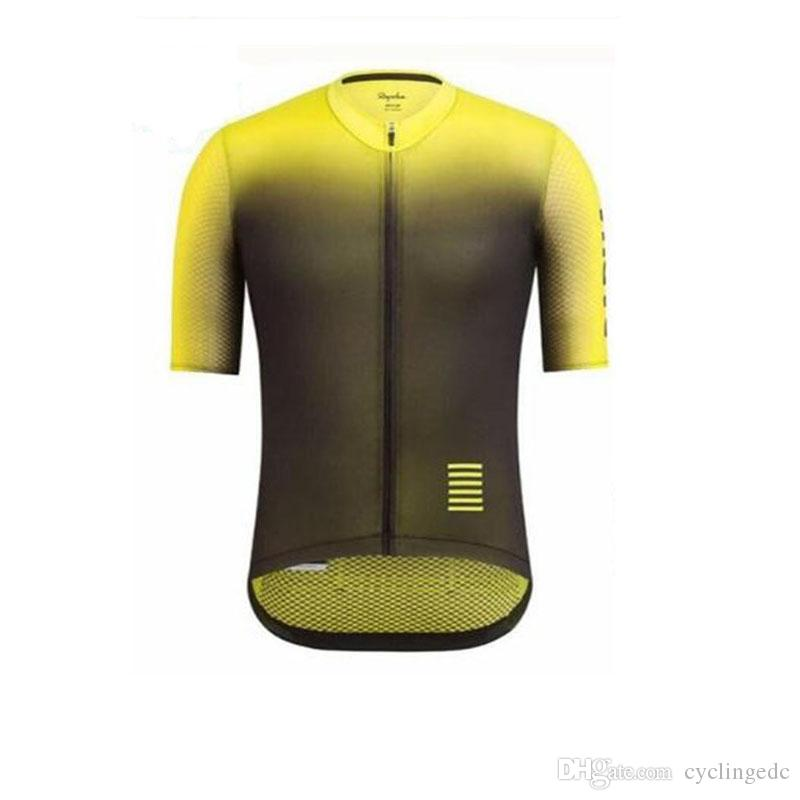 Rapha men Cycling Jersey Short Sleeve Bicycle Cycling Clothing Summer Racing Cycling Clothing Maillot Ropa Ciclismo