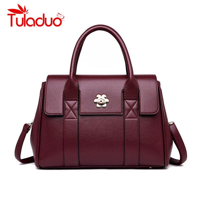 High Quality Leather Ladies Handbag Women Shoulder Bag Women ... 1fa354b676078