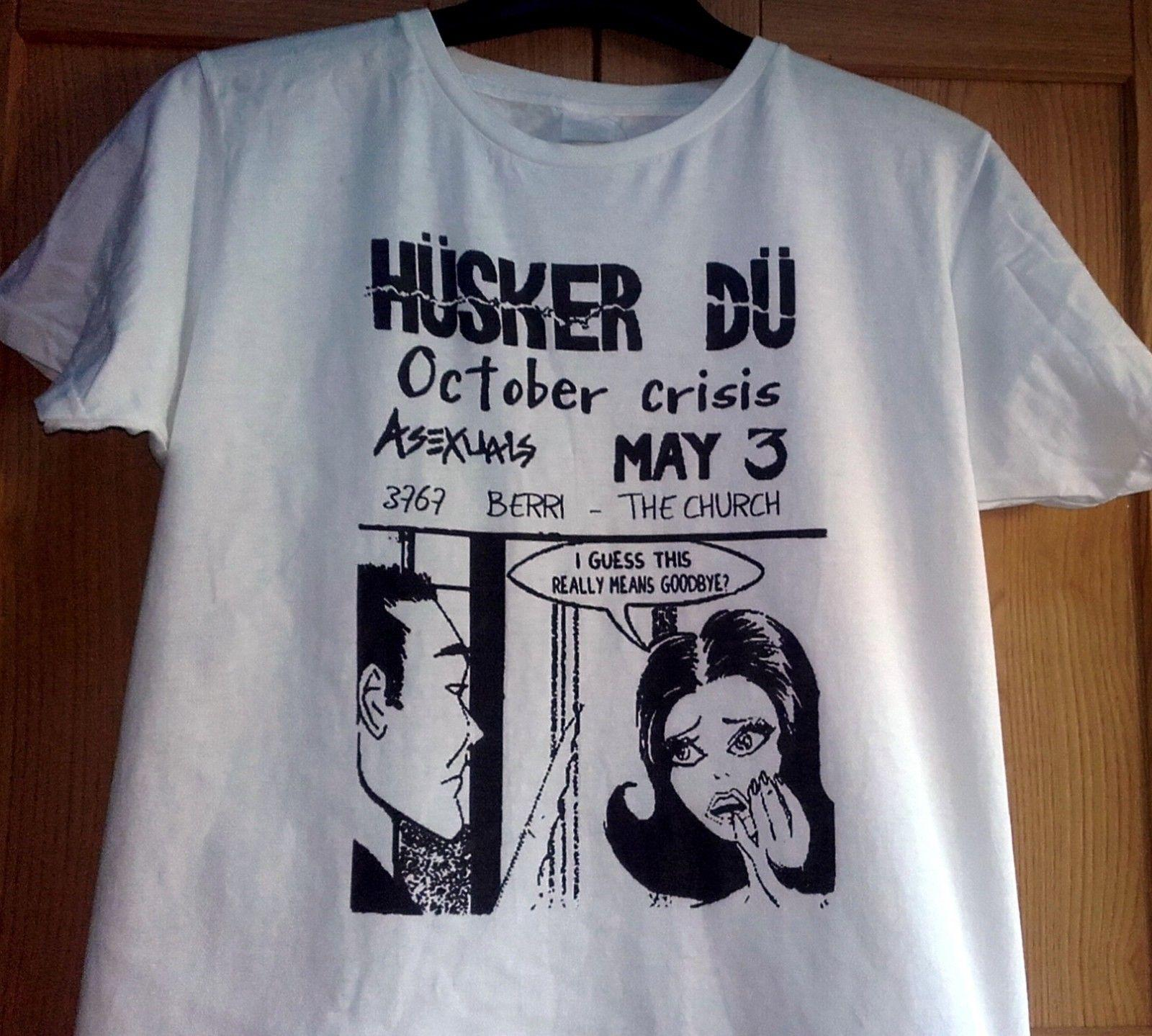 39477613 HUSKER DU Concert Flyer T SHIRT MEDIUM SIZE NEW Funny Unisex Casual Top T  Shir T Sh From Paystoretees, $12.96  DHgate.Com