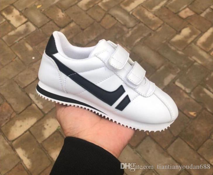 Acheter 2019 NOUVEAUTÉ Chaussures De Course Pour Enfants De Haute Qualité  Jogging Chaussure Décontractée Design Classique abc338b02222