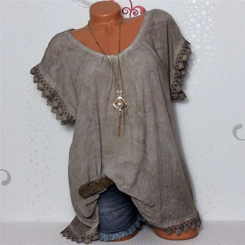 2019 Emmababy Las mujeres más del tamaño mini floral corto vestido de Top Camiseta Túnica Camiseta de las mujeres del verano Camiseta básica