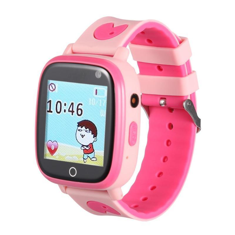 Clever Child Cute Smartwatch Safe-keeper Sos Call Anti-lost Monitor Real Time Tracker For Children Base Station Location App Control Watches Men's Watches