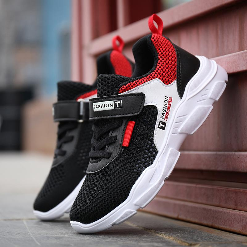 pretty nice 5e1d2 32570 Kids Running Shoes Children New Breathable Mesh Cloth Casual Sport Shoes  Primary School Students Fashion Designer Sneakers Track Sneakers Boys  Athletic ...
