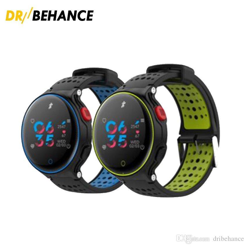 6780afa2ae7e X2 más reloj inteligente pantalla a color Pulsera banda de deportes pulsera  de ejercicios Monitor de ritmo cardíaco IP68 Natación a prueba de agua