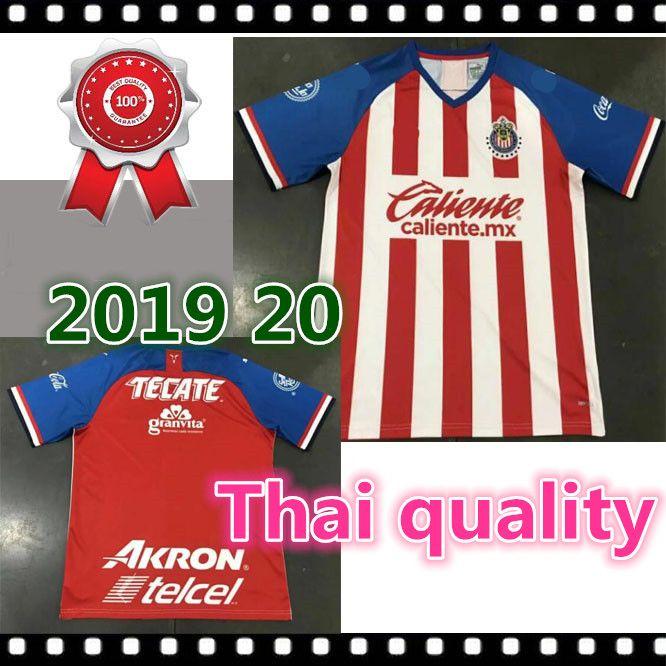 3be9ad1c2b6 2019 Thai Quality 2019 2020 CHIVAS Guadalajara Club World Cup LIGA MX Club  America UNAM Soccer Jersey De Cuervos 19 20 CHIVAS Football Shirt From  Tracksuit