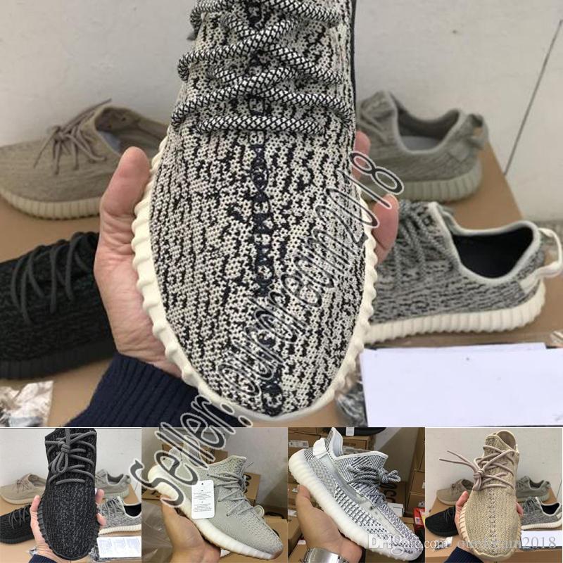 info for 2cf34 c3d09 Compre Adidas Yeezy 350 V2 BOOST La Mejor Calidad V1V2 Zapatos Para Correr  Para Hombre Cebra Crema Blanco Estático Kanye West Blue Tint Butter Mujer  Moda ...