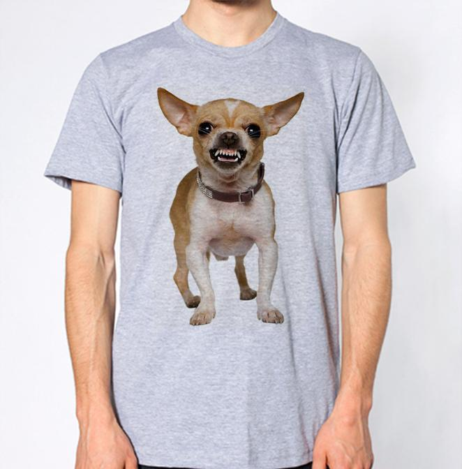 2e9c919c78 Chihuahua T Shirt Angry Dog Jersey Print T Shirt Funny Rude T Shirts Trendy  Mens T Shirts From Wellcup, $16.24| DHgate.Com