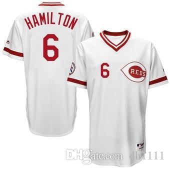 timeless design 63635 dac86 2019 Custom Cincinnati Sports Cheap Reds Baseball Jerseys Fashion Men Youth  Joey Votto Billy Hamilton Jersey Sizes wholesale teams kids 4xl