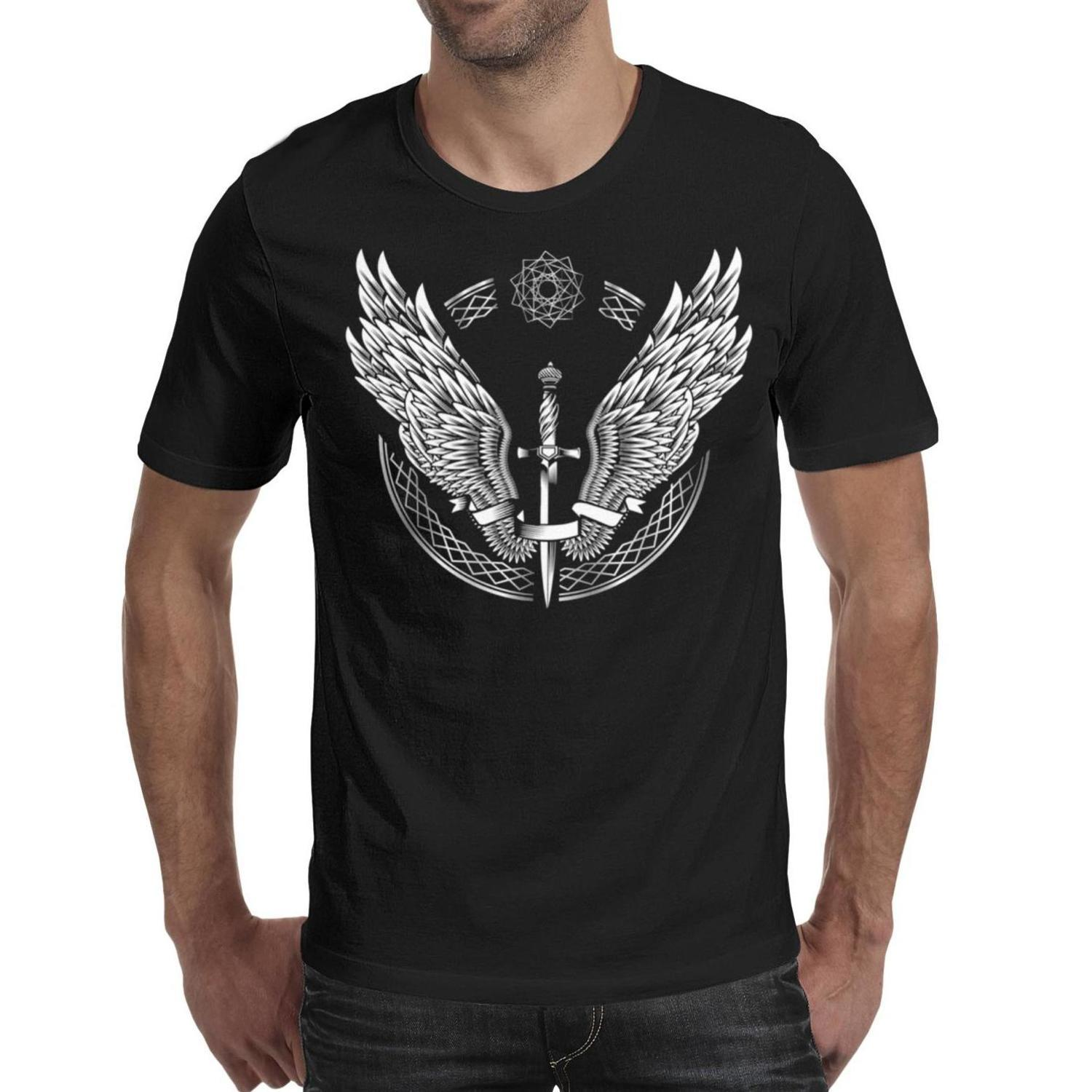 Halsey-Wings-arrow-pop-music- Men T Shirt black Shirts Custom T Shirts Funny Tee Shirts Mvp Wholesale Shirt Black