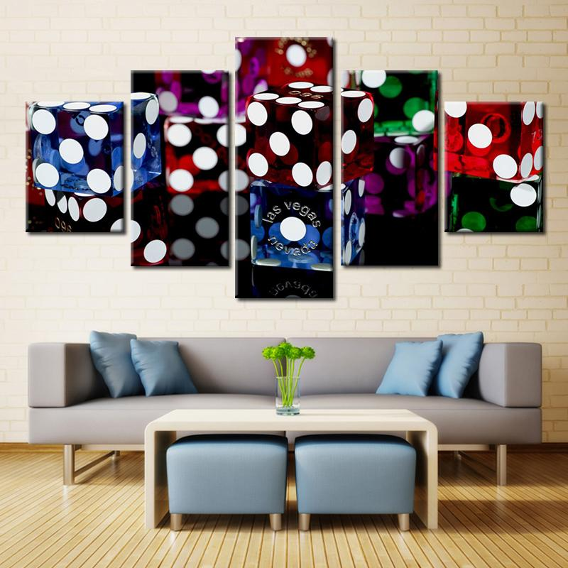 2019 Movie Poster Las Vegas Dice Casinos Painting Canvas Wall Art Picture Home Decor Living Room Print Modern From Fashion Wallart