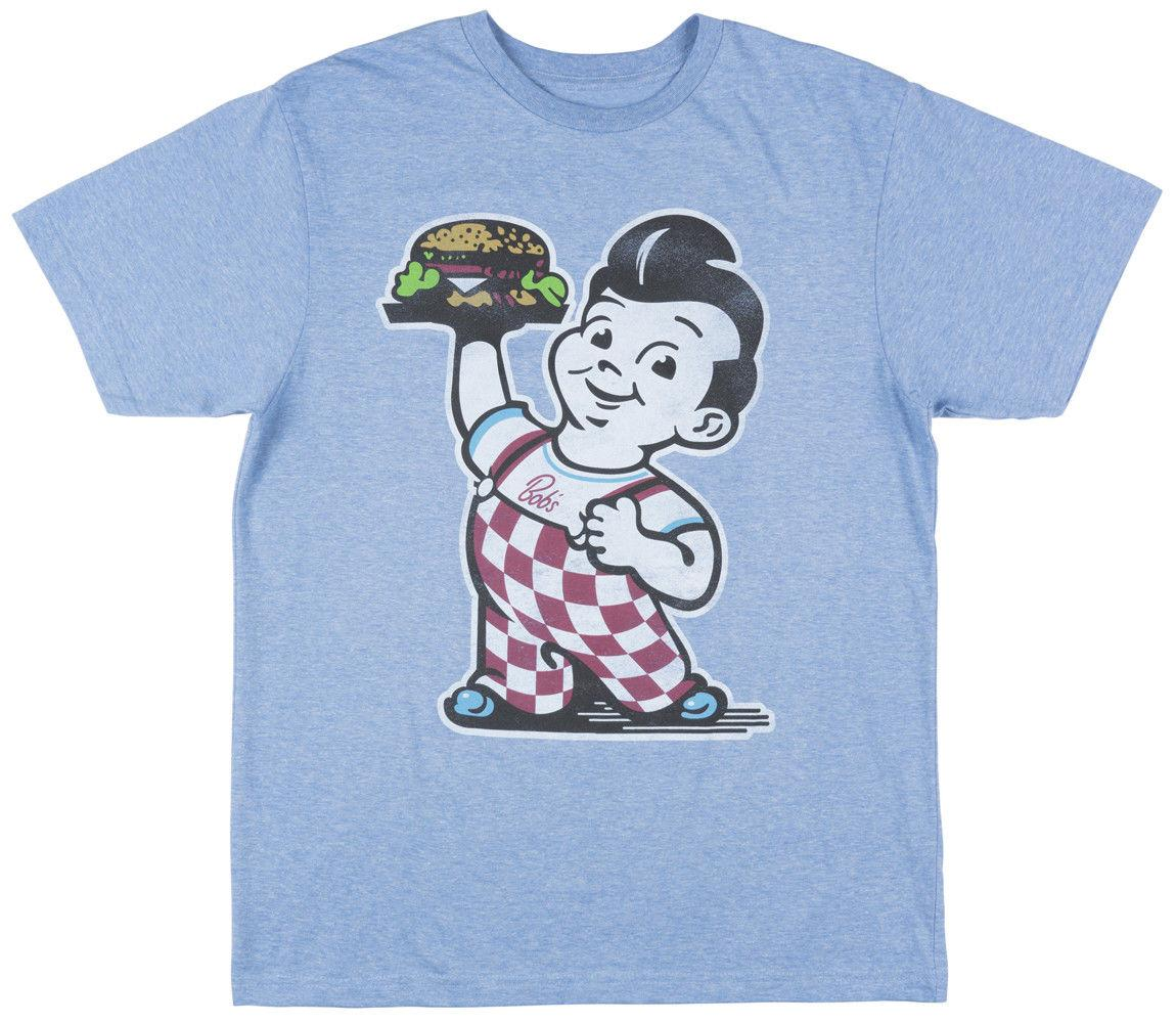 1c19e360ed4 Bobs Big Boy Burger Short Sleeve Vintage T Shirt Retro Mens Blue Funny  Unisex Casual Gift Printed T Shirt Funny T Shirts For Guys From  Justtheshirt