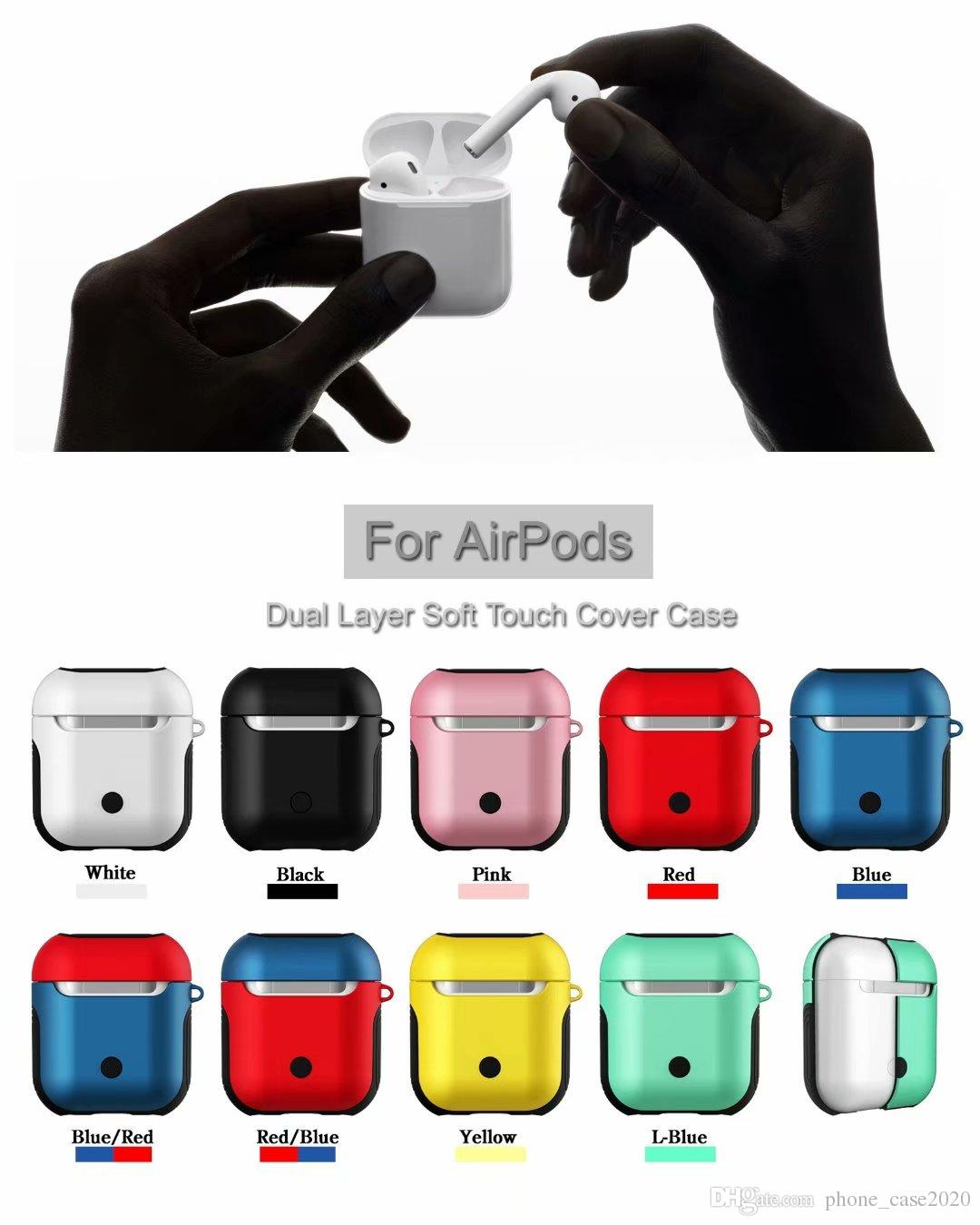 7b3400ef3a9 2019 Anti Knock Soft Silicone Case PC Pouch Protective Skin Cover For Apple  Airpods Earphone Wireless Headphone From Phone_case2020, $2.52   DHgate.Com